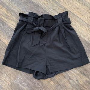 Zara tie shorts
